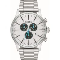 Herren Nixon The Sentry Chrono Chronograph Watch A386-2871