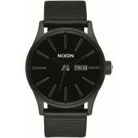 Herren Nixon The Sentry Leather Watch A105-1147
