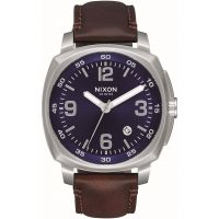 Herren Nixon The Charger Leather Watch A1077-1524
