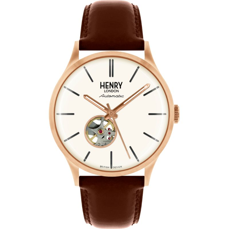 Mens Henry London Heritage Automatic Watch