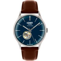 Henry London Heritage Herenhorloge Bruin HL42-AS-0277
