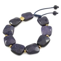 Ladies Lola Rose Base metal Alison Blue Sandstone Bracelet
