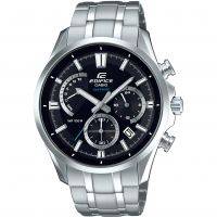 Casio Edifice Sapphire Herrkronograf Silver EFB-550D-1AVUER