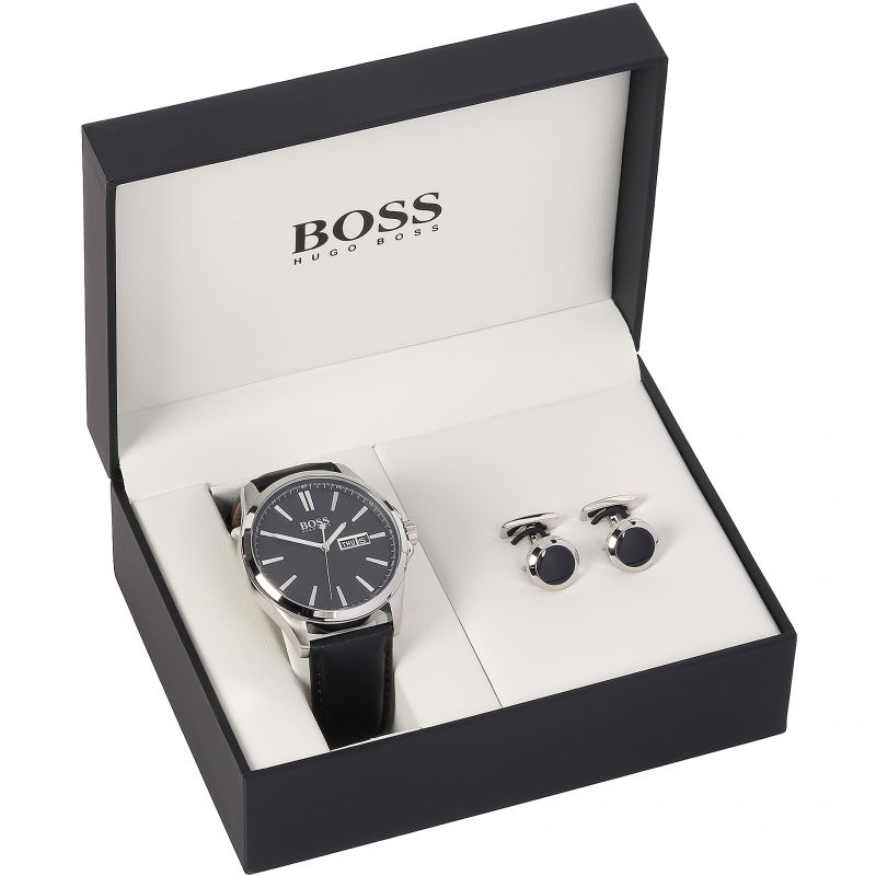 Mens Hugo Boss Gift Set Watch