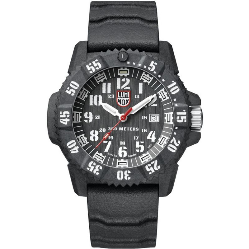 Mens Luminox 3800 Series Master Carbon Seal Watch