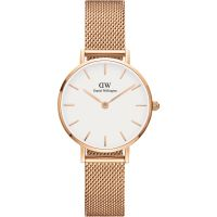 Ladies Daniel Wellington Classic Petite 28 Melrose White Watch