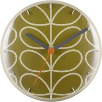 horloge Orla Kiely Clocks Moss Wall Clock OK-WCLOCK02