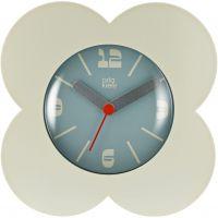 Wanduhr Orla Kiely Clocks Dark Grey Clock OK-ACLOCK03