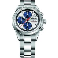 homme Louis Erard Heritage Sport Chronograph Watch 78104AA11.BMA22