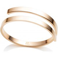 Abbott Lyon Dames Polished Twirl Bangle Verguld goud AL3423