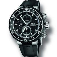 homme Oris Pro Diver Chronograph Watch 0177477277154-SET