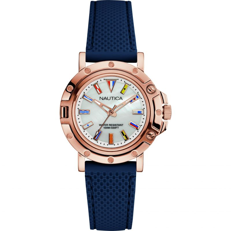 Ladies Nautica NST800 Flag Watch