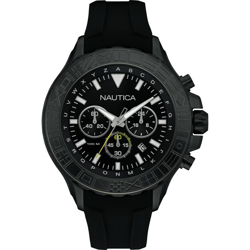 Mens Nautica NST1000 Chronograph Watch