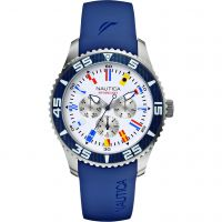 Mens Nautica NST07 Flag Watch A12627G