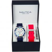 Herren Nautica NST07 Flag Box Set Watch NAI13502G