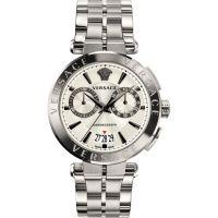 homme Versace V-Racer Chronograph Watch VBR040017