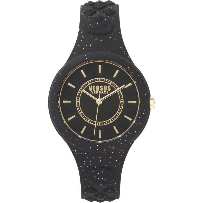 Unisex Versus Versace Fire Island Glitter Watch