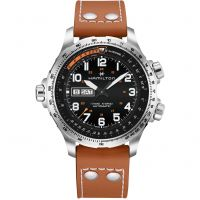 Hamilton Khaki Aviation X-Wing Herrklocka H77755533