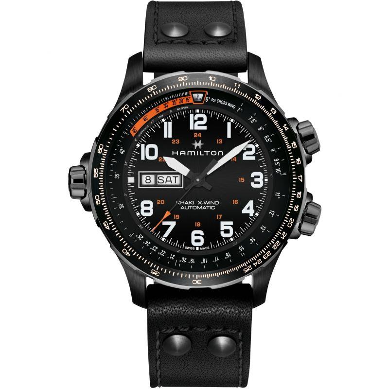 Mens Hamilton Khaki X-wind Automatic Watch