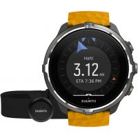 Unisex Suunto Spartan Wrist HR Barometer Bluetooth Chest Strap Set Alarm Chronograph Watch SS050002000