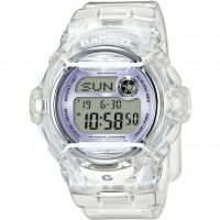 Ladies Casio Baby-G Alarm Chronograph Watch BG-169R-7EER