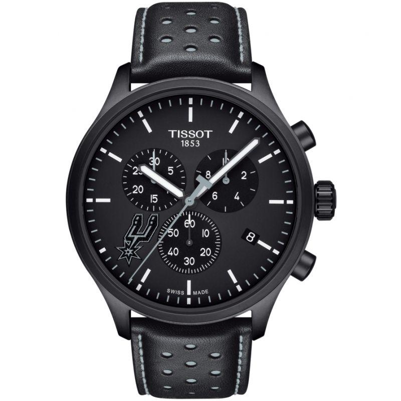 Mens Tissot Chrono XL NBA San Antonio Spurs Chronograph Watch
