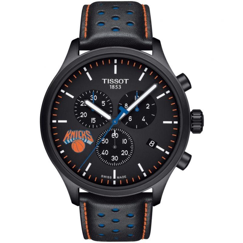 Mens Tissot Chrono XL NBA New York Knicks Chronograph Watch