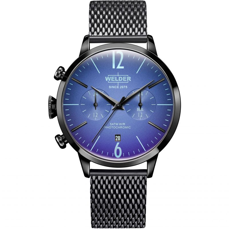 Unisex Welder The Moody 42mm Dual Time Watch