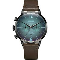 Welder The Moody 42mm Dual Time Unisexklocka Brun K55/WWRC207