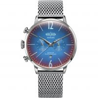 Welder The Moody 45mm Dual Time Unisexklocka Silver K55/WWRC403