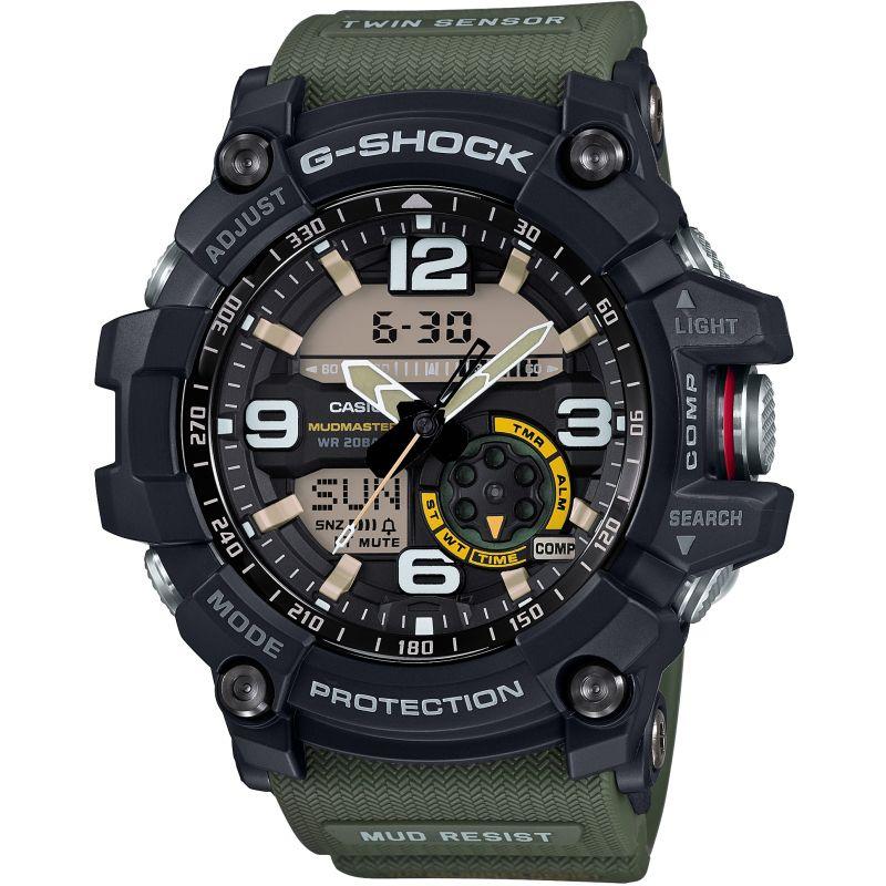 Mens Casio G-Shock Mudmaster Master Of G Alarm Chronograph Watch