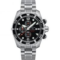 homme Certina DS Action Diver Chronograph Watch C0324271105100