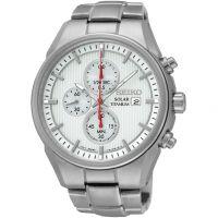 Herren Seiko Sport Titan Chronograf solarbetrieben Uhren