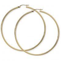 Jewellery Plain hoop earrings JEWEL E928