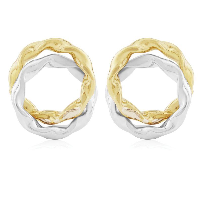 Jewellery 9ct Gold Fancy Stud Earrings