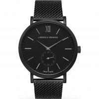 Herren Larsson & Jennings Lugano 40mm Watch LGN40-CMBLK-C-M-M-BB-O