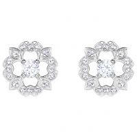 femme Swarovski Jewellery Sparkling Dance Flower Stud Earrings Watch 5396227