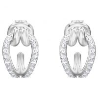femme Swarovski Jewellery Lifelong Small Hoop Earrings Watch 5390814