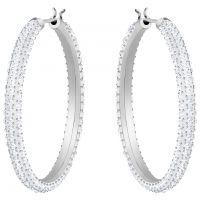 femme Swarovski Jewellery Stone Hoop Earrings Watch 5389432