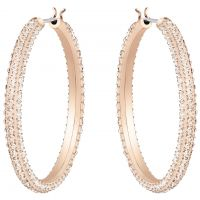 Gioielli da Donna Swarovski Jewellery Stone Hoop Earrings 5383938