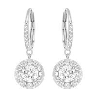 Ladies Swarovski Silver Plated Attract Earrings 5142721