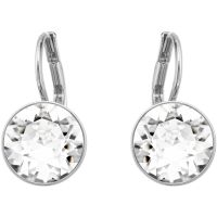 Ladies Swarovski Silver Plated Bella Earrings