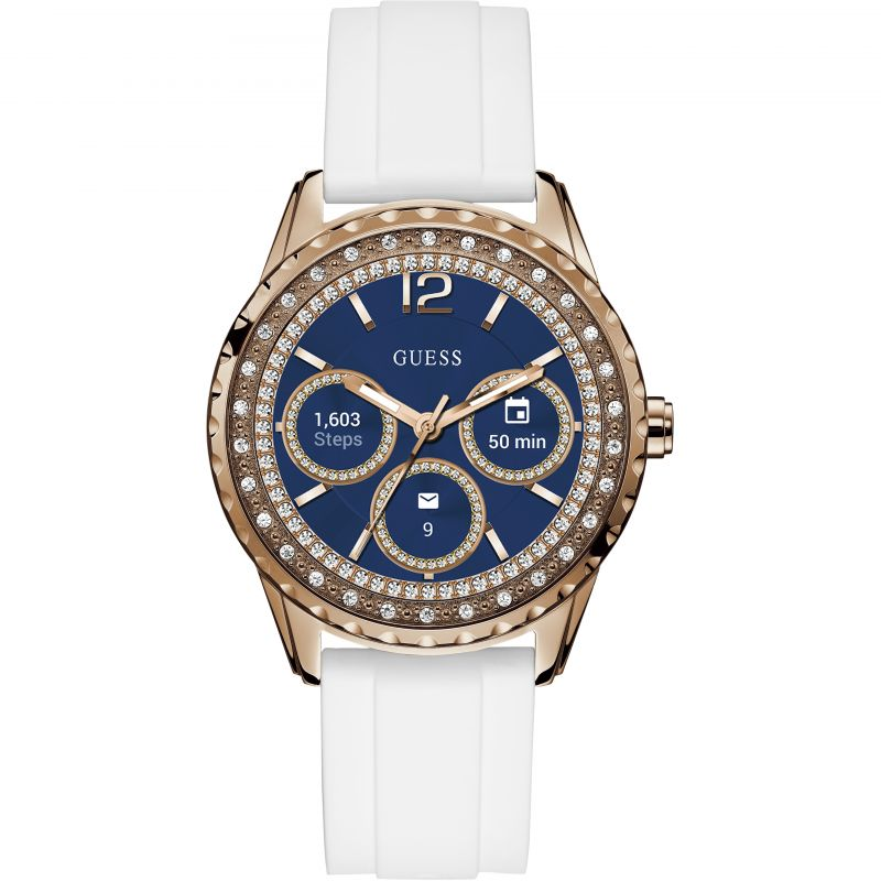 Ladies Guess Connect Android Wear Bluetooth Alarm Chronograph Watch