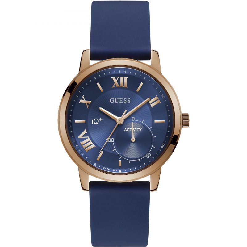 Mens Guess IQ+ Hybrid Smartwatch Watch