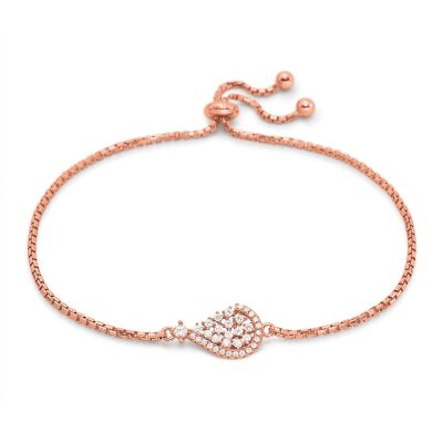 Bijoux Folli Follie Sparkle Chic CZ TearBracelet 5010.3857