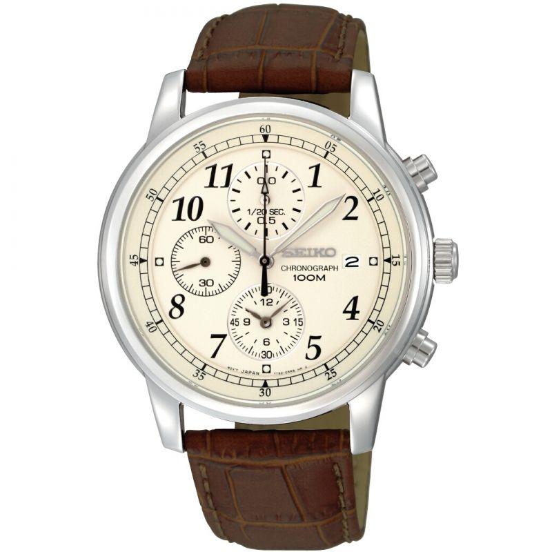 Mens Seiko Sports Chronograph Watch