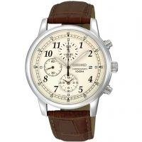 Mens Seiko Sports Chronograph Watch SNDC31P1