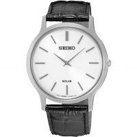 Herren Seiko Solar Powered Watch SUP873P1
