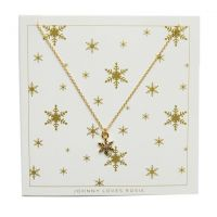 Johnny Loves Rosie Jewellery Snowflake Necklace JEWEL
