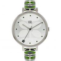 Damen Orla Kiely Ivy Mesh Watch OK2191